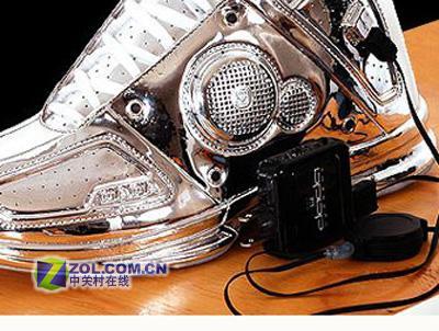 这就是个性篮球鞋竟然就是MP3播放器