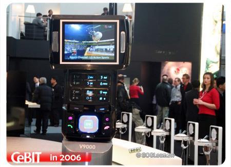 所有功能都具备LG全能电视手机V9000曝光