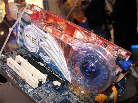 武装X1900XTXHIS展示最新ICEQ3代散热系统