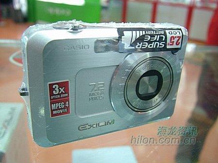 全手动卡片机卡西欧Z750现卖2920元
