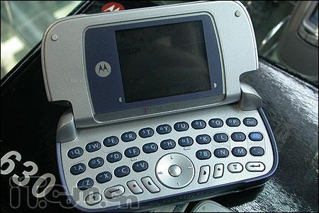 短信利器摩托QWERTY键盘手机仅售1180