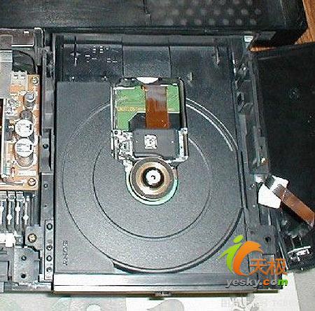 ...CD-ROM光驱进行操作时显示 \