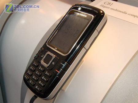 淋漓诠释圆方体手机明西C81真机亮相