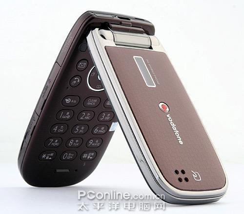 搭载动作识别技术夏普3G手机V804SH图赏