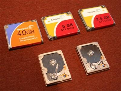 硬盘革命希捷推出1英寸垂直记录硬盘