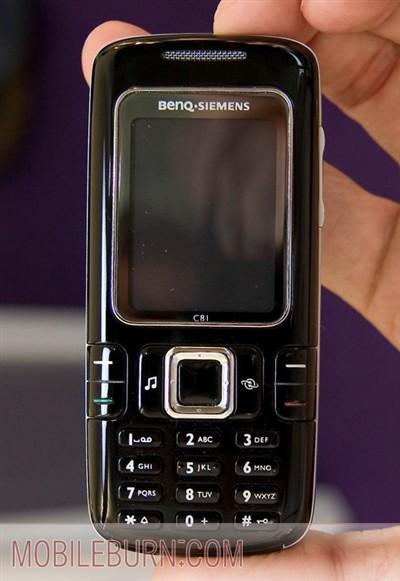 首位C系成员明基西门子C81手机亮相