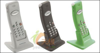 三种颜色GreenHouse推出VOIP新机