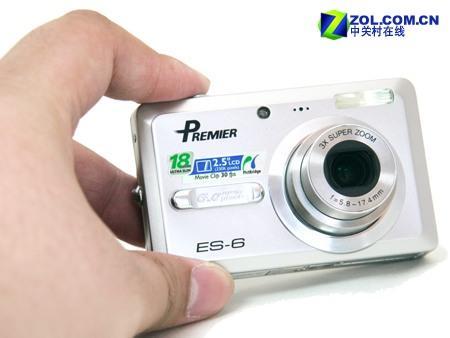 18mm的卡片相机拍得丽ES-6全国首测