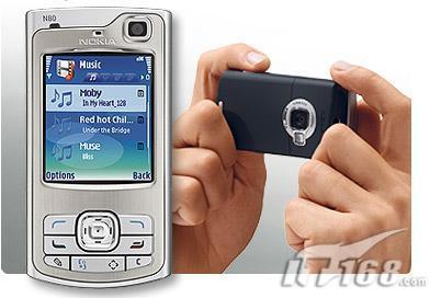 全能滑盖王诺基亚300万像素N80下月上市