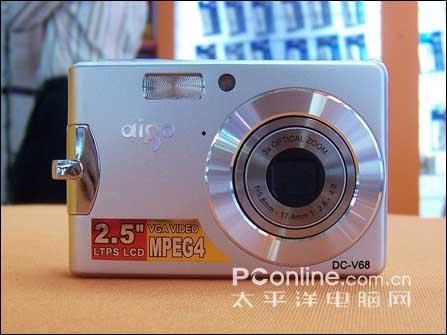 国产也轻薄爱国者V68相机售2299元(图)