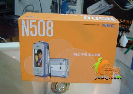 特价促销NEC精典PDA手机N508不到千元