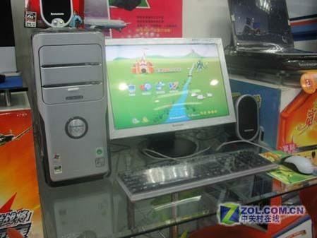 联想64位PC配19宽屏液晶售价6299元