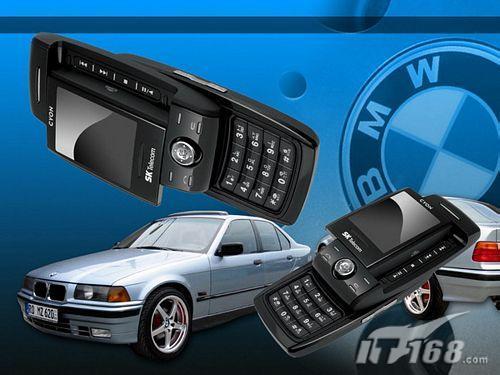 手机搭着宝马卖LGSD910手机出推销奇招