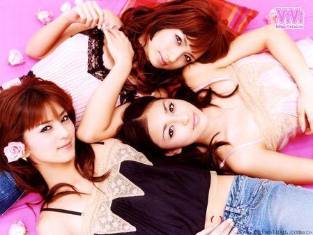 粉红色系列日本时尚1024x768壁纸