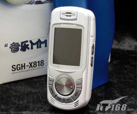 精致玲珑三星女性音乐手机X818详细评测