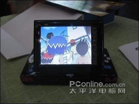 智能双全爱国者MP4视觉王售价4999元
