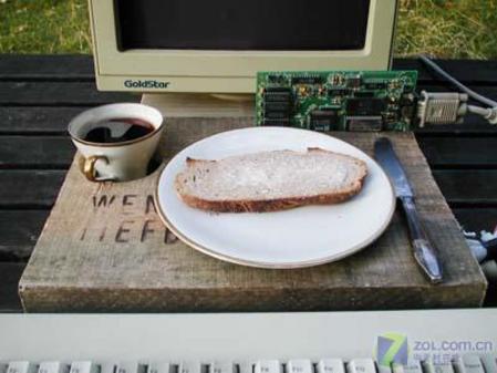 绝对爆笑超强电脑演绎AMD处理器上煮咖啡