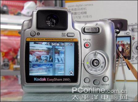 [香港]廉价10倍光变长焦柯达Z650开售