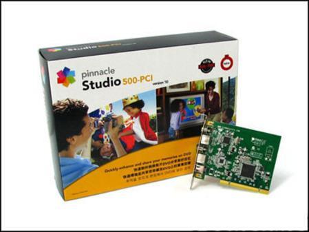 留住美好时光品尼高Studio500-PCI