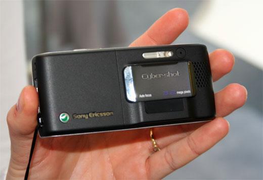 320万像素诱惑索爱K790/K800真机对比图