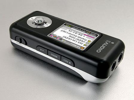 18日MP3行情昂达促销iAUDIO新机上市