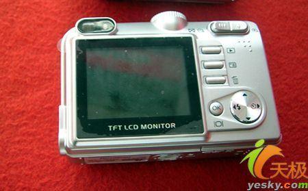 拍得丽500万像素数码相机疯狂价999元