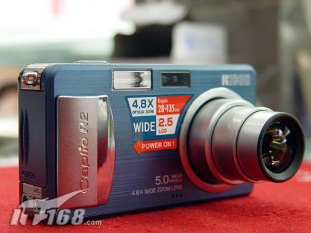 [上海]5M广角理光R2数码相机跌至1999
