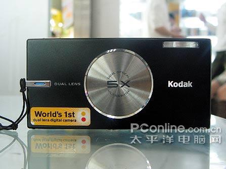 全国首破3K 柯达双镜头V570较劲索尼T9