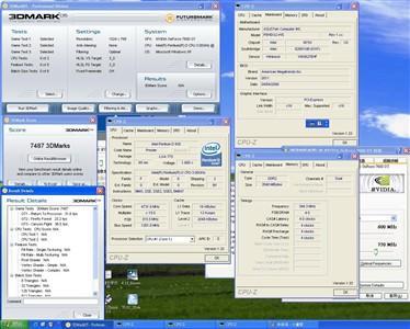 技嘉静音版7600GT完整写真及超频成绩