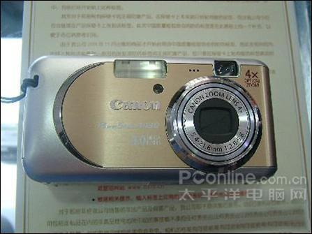 佳能400万像素4x光变数码相机仅售1180