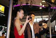 P&E展:尼康展台超靓模特伴酷机第一辑