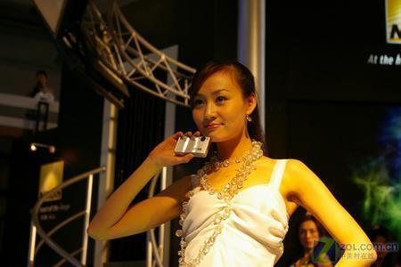 P&E展:尼康展台高质量超靓模特第二辑