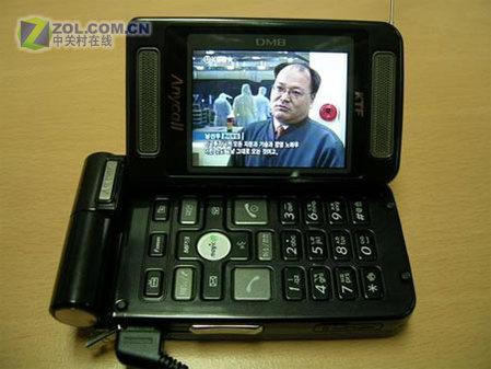 独特屏幕设计三星卫星DMB功能B3100图赏