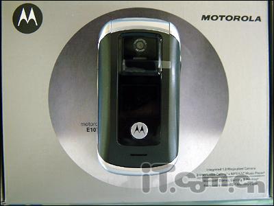 欧美强势3G机摩托E1070改版市场亮相