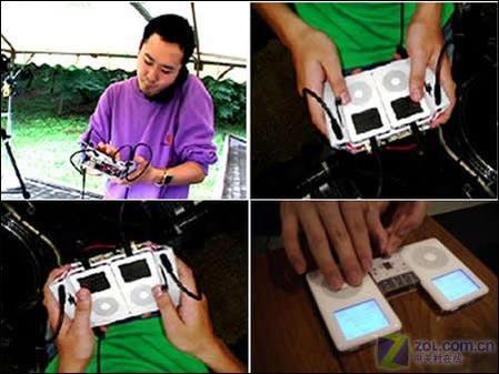 日本 混音/图为日本DJ使用由iPod改装的混音台