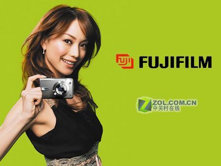 气质美女富士数码相机最新代言人亮相