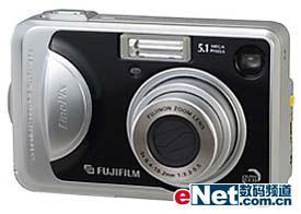 富士发布A系列数码相机新品A510