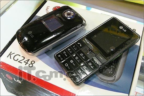 价格实惠LG折叠巧克力手机KG248登场