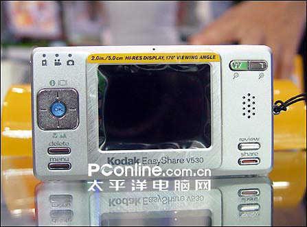 柯达卡片机V530再降:1899元送相机包