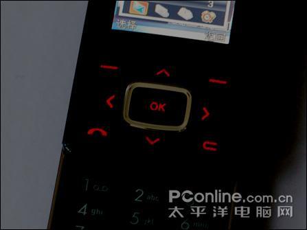 时尚超薄LG百万像素滑盖机KG90仅售3590元