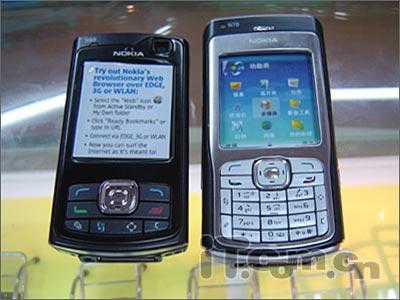 智能滑盖机诺基亚300万像素N80仅售5100元