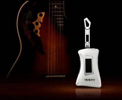 吉他造型OPPO新款MP3――X31M即将上市