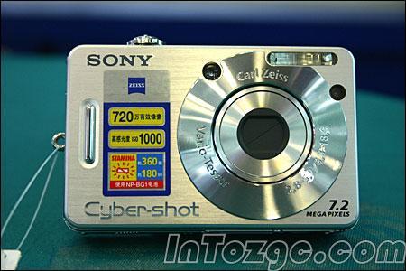 索尼W70上市700万像素DC售价2500元