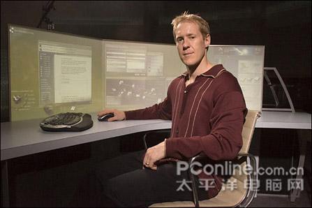 眩目的科技!微软未来办公室中的PC
