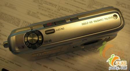 民用卡片像素达千万卡西欧Z1000登场