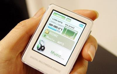 白色魅力Woodi推出新款MP3播放器live
