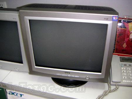 采用大众化色彩,灰色款AOC772F便宜卖