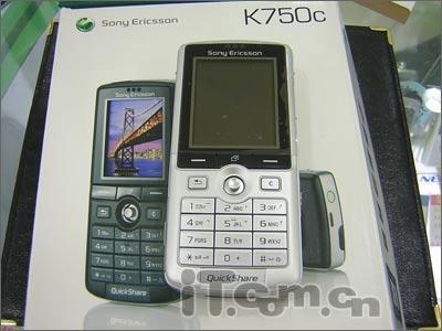 音乐王者索爱200万像素K750c仅售2399元
