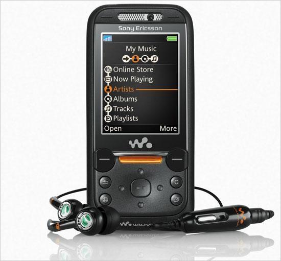 索尼爱立信推出首款滑盖3G音乐手机W850