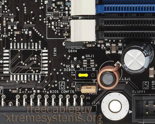 硬件修改让现有975x主板支持Conroe!